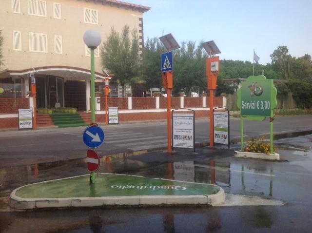 Segnalazione attraversamenti pedonali Salerno