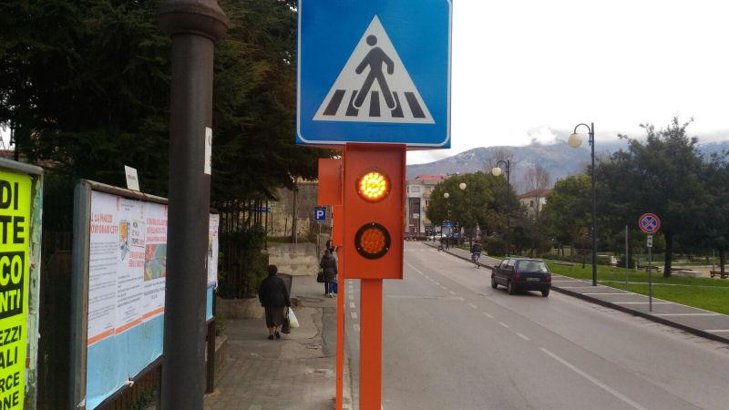 Baronissi sicurezza stradale Salerno