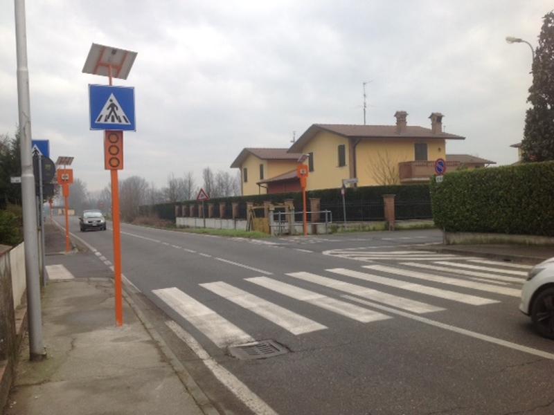 Palazzo Pignano sicurezza stradale Cremona