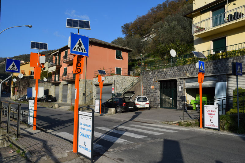 Sicurezza stradale Genova - Recco