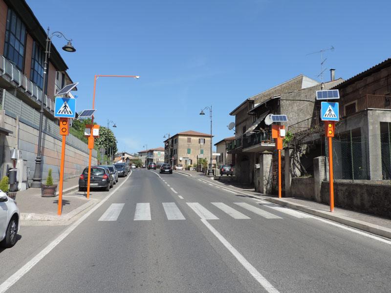 Sicurezza stradale a Roma - Labico